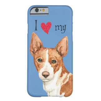 I Love my Portuguese Podengo Barely There iPhone 6 Case