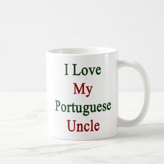 I Love My Portuguese Uncle Coffee Mug