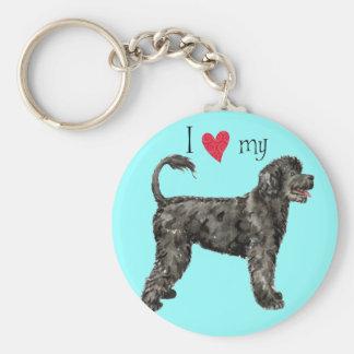 I Love my Portuguese Water Dog Keychain