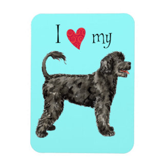 I Love my Portuguese Water Dog Magnet