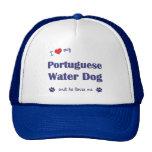 I Love My Portuguese Water Dog (Male Dog) Trucker Hats