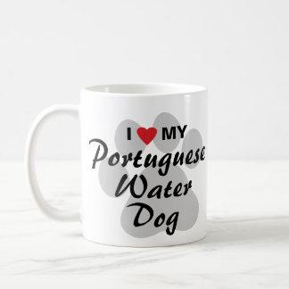 I Love My Portuguese Water Dog Coffee Mug