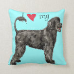 I Love my Portuguese Water Dog Pillows