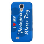 I Love My Portuguese Water Dog Samsung Galaxy S4 Cover