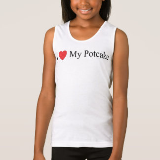 I Love My Potcake Tank Top