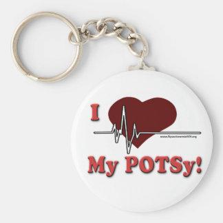 I love my POTSy Key Chain