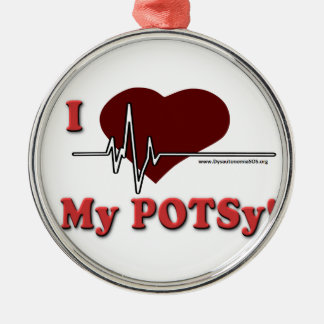 I love my POTSy Ornament