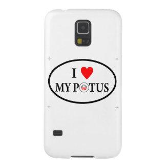 I Love My Potus Galaxy S5 Cases