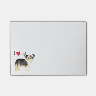 I Love my Powderpuff Post-it® Notes