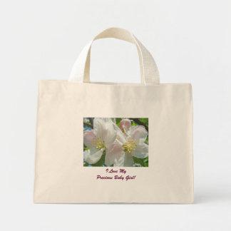I Love My Precious Baby Girl! Mom's Totes Blossoms Bag