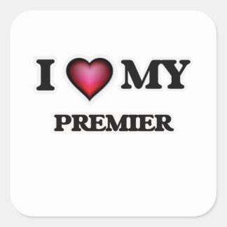 I love my Premier Square Sticker