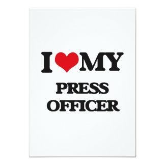 I love my Press Officer Card