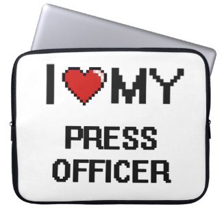 I love my Press Officer Computer Sleeves