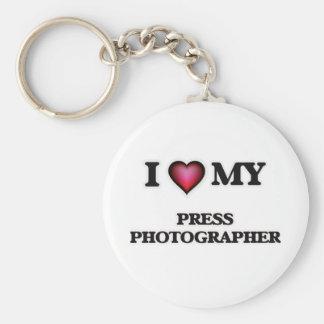 I love my Press Photographer Keychain