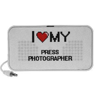 I love my Press Photographer Portable Speakers