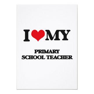 I love my Primary School Teacher Announcement