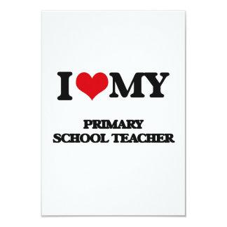 I love my Primary School Teacher Invite