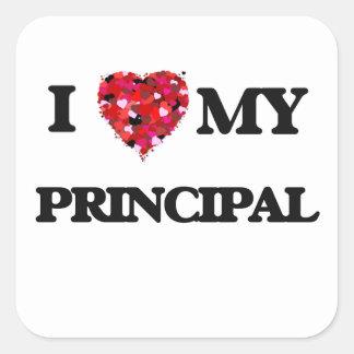 I love my Principal Square Sticker