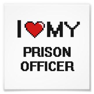 I love my Prison Officer Photo Print