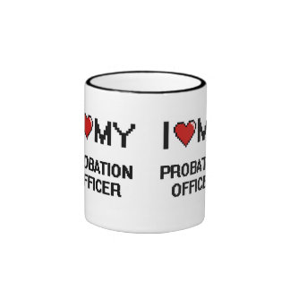 I love my Probation Officer Ringer Mug