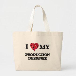 I love my Production Designer Jumbo Tote Bag