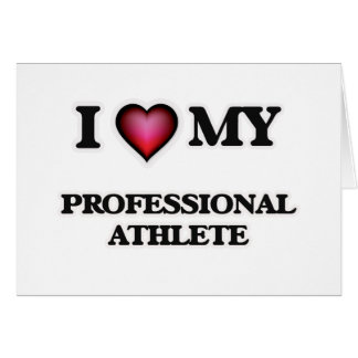 I love my Professional Athlete Card