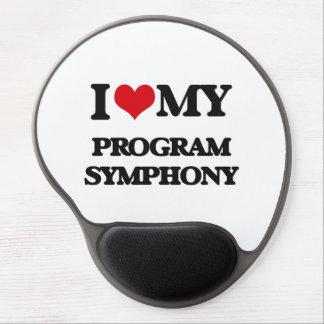 I Love My PROGRAM SYMPHONY Gel Mouse Pad