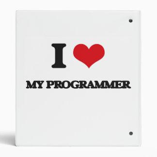 I Love My Programmer Binder