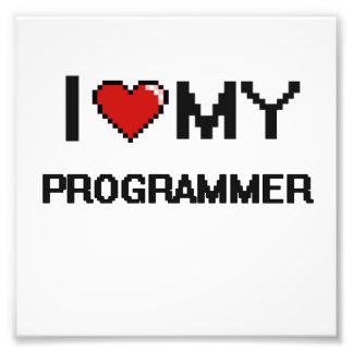 I love my Programmer Photo Print