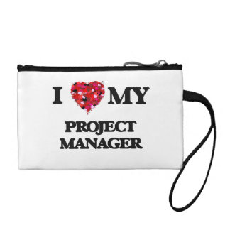 I love my Project Manager Change Purse