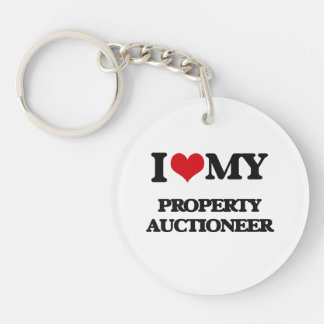 I love my Property Auctioneer Acrylic Key Chain