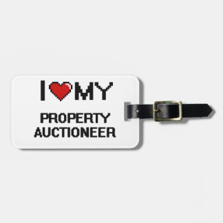 I love my Property Auctioneer Tags For Luggage