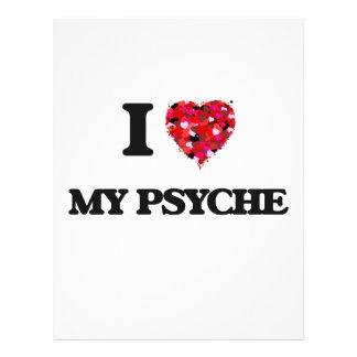 "I Love My Psyche 8.5"" X 11"" Flyer"