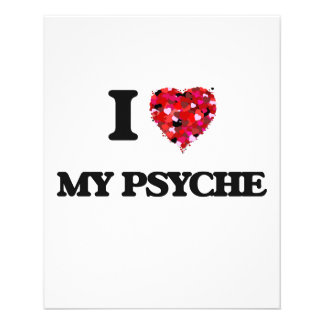 "I Love My Psyche 4.5"" X 5.6"" Flyer"