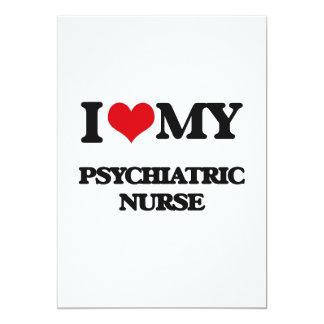 I love my Psychiatric Nurse Personalized Announcements