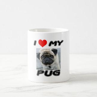 I LOVE MY PUG - ADD YOUR OWN PHOTO - MUG