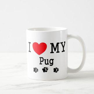 I Love My Pug! Coffee Mug