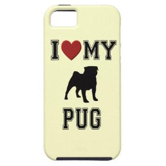 I LOVE MY PUG - DOG iPhone SE/5/5s CASE