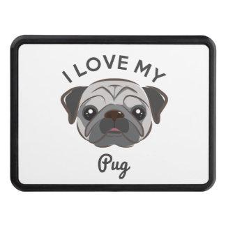 """I Love My Pug"" Hitch Cover"