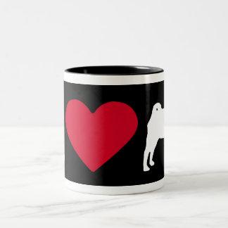 """I Love my Pug"" Mugs"