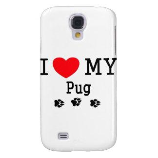 I Love My Pug! Samsung Galaxy S4 Case