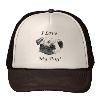 I Love My Pug! Trucker Hat