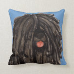 I Love my Puli Pillow