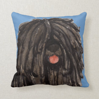 I Love my Puli Throw Pillow