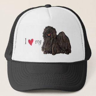 I Love my Puli Trucker Hat