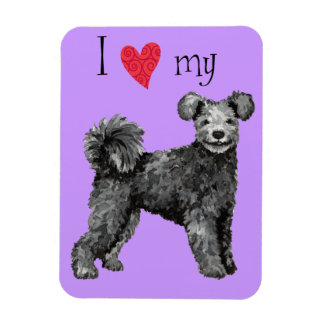 I Love my Pumi Magnet