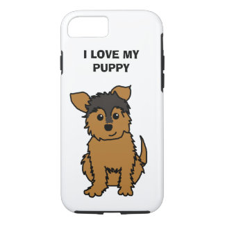 I Love My Puppy Phone Case
