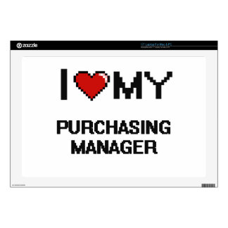 I love my Purchasing Manager Laptop Decal