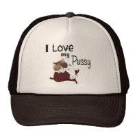 I love my pussy mesh hats