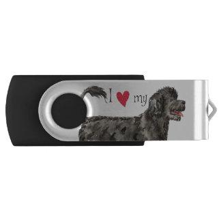 I Love my PWD Swivel USB 3.0 Flash Drive